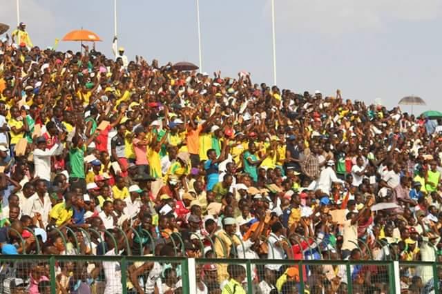 Kano Pillars Fans during Football Match
