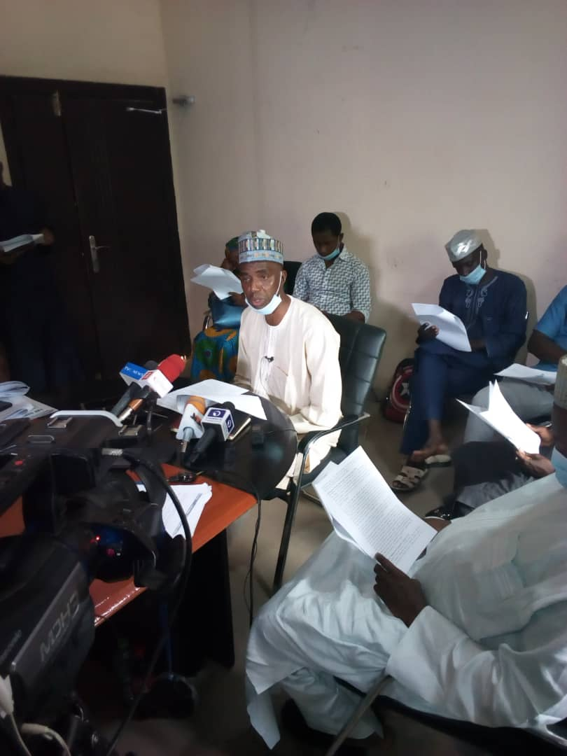 Asuu Kano Zone During the Briefing