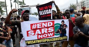 SARS Protesters across the country