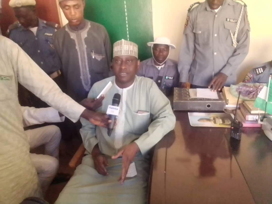 Major General Sani in a Remark at the Hisbah Office
