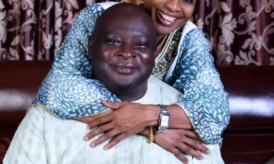 Babajide and wife